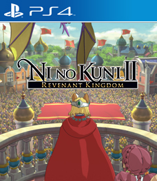 Ni No Kuni II: Revenant Kingdom Cover