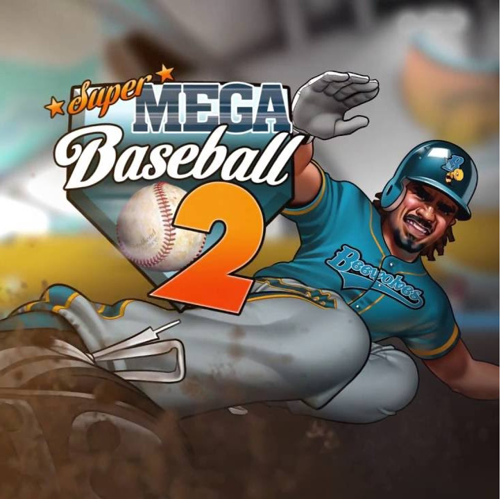 Super Mega Baseball 2 Cover