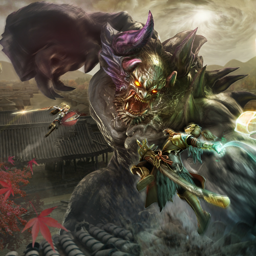 Toukiden 2 Cover