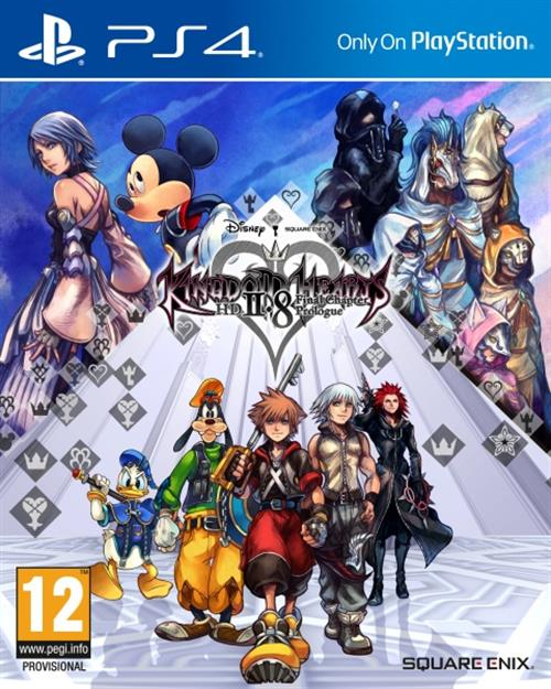 Kingdom Hearts HD 2.8 Final Chapter Prologue Cover