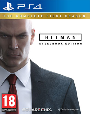 Hitman - The Complete First Season Steelbook Edition Cover