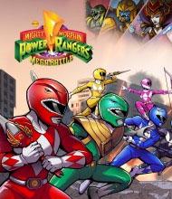 Mighty Morphin Power Rangers: Mega Battle Cover