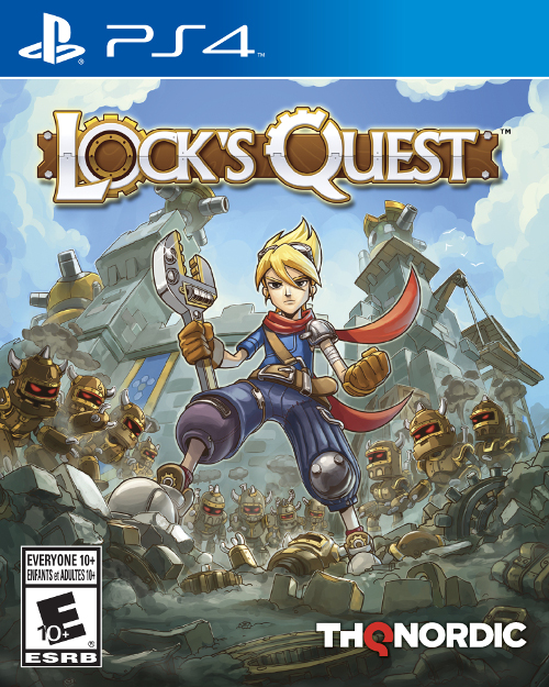Lock's Quest Cover