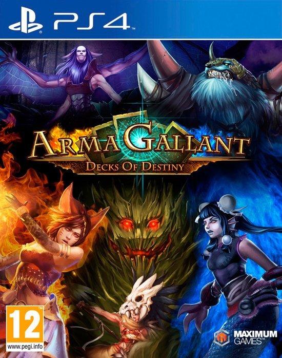 ArmaGallant: Decks of Destiny  Cover