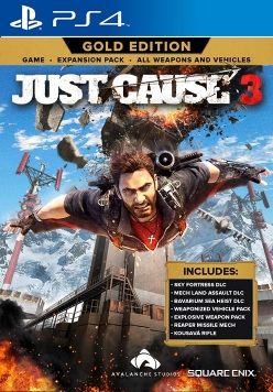 Just Cause 3 - Gold Edition Cover