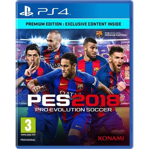 Pro Evolution Soccer 2018 Cover