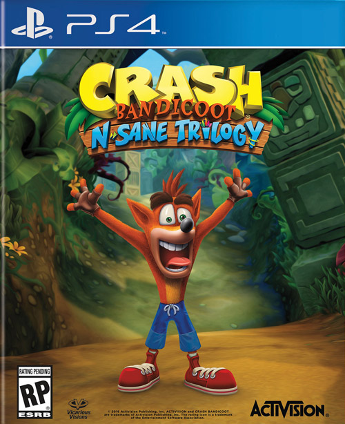 Crash Bandicoot N. Sane Trilogy Cover