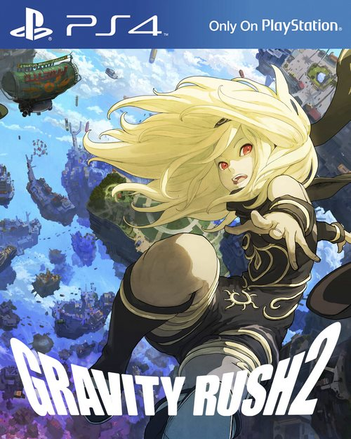 Gravity Rush 2 Cover