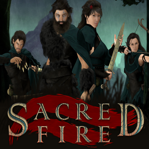 Sacred Fire Cover