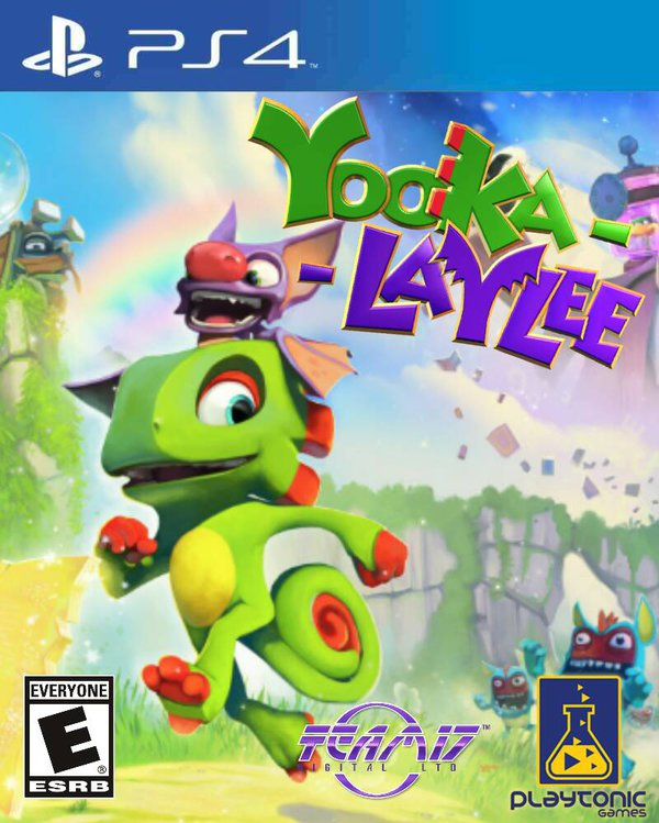 Yooka Laylee Cover