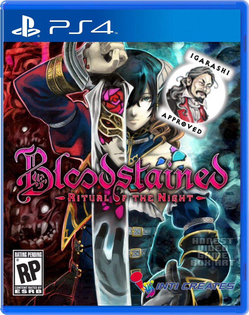 Bloodstained: Ritual Of The Night Cover