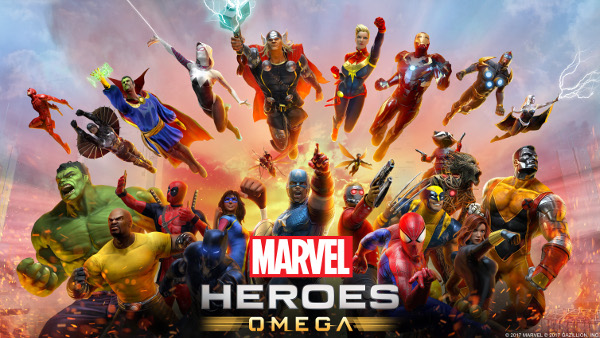 Marvel Heroes Omega Cover