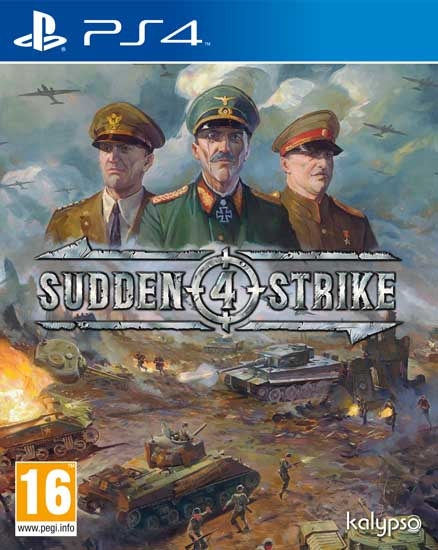 Sudden Strike 4 Cover