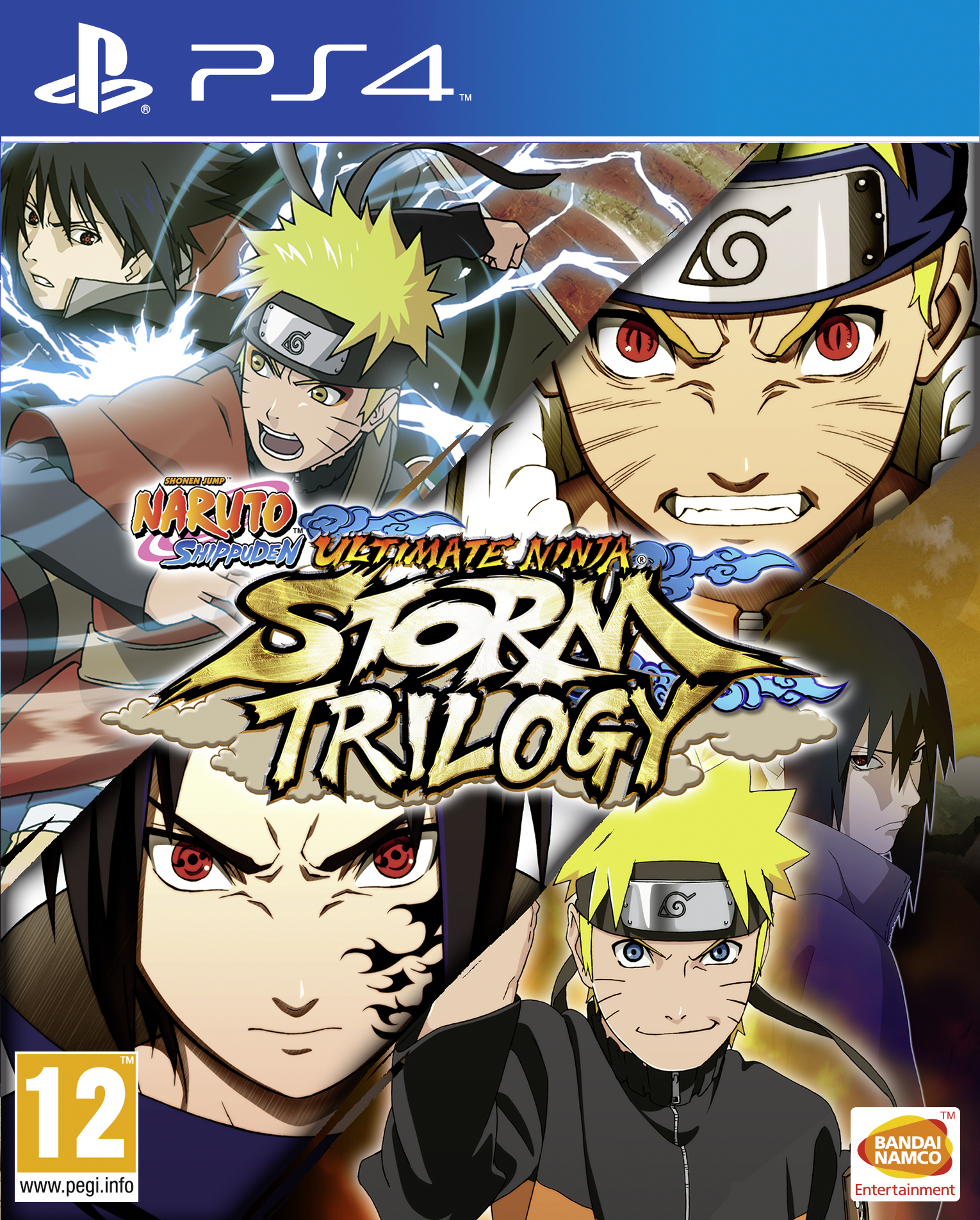 Naruto Shippuden: Ultimate Ninja Storm Trilogy Cover
