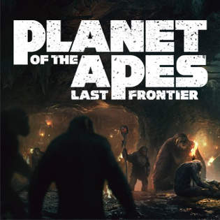 Planet of the Apes: Last Frontier Cover