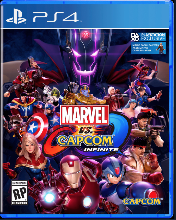 Marvel VS Capcom INFINITE Cover