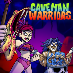 Caveman Warriors Cover