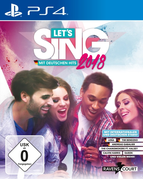 Let's Sing 2018 Cover