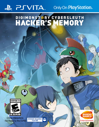 Digimon Story: Cyber Sleuth Hacker's Memory Cover