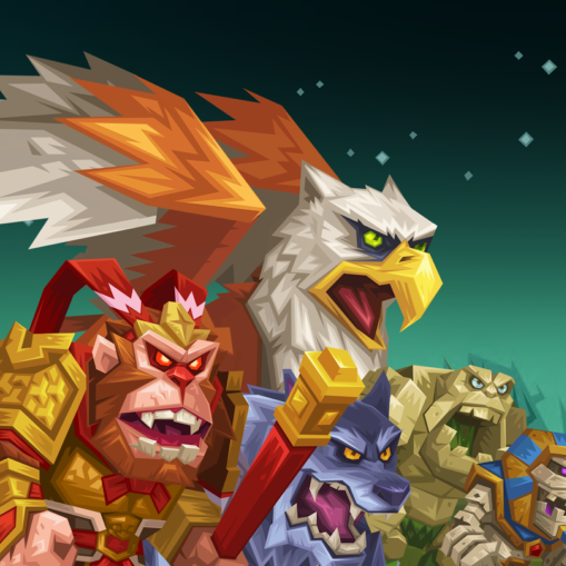 Tactical Monsters Rumble Arena Cover