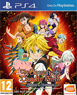 The Seven Deadly Sins: Knights of Britannia Cover