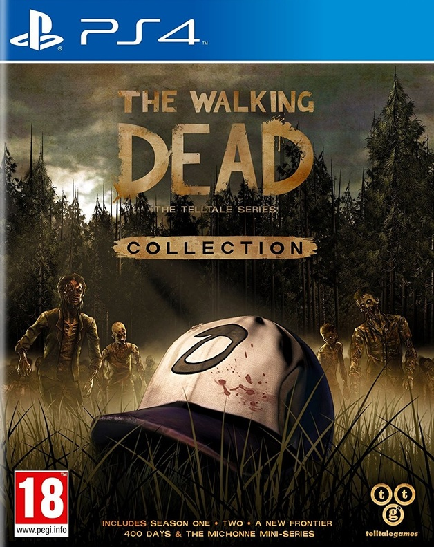 The Walking Dead: The Telltale Series Collection Cover