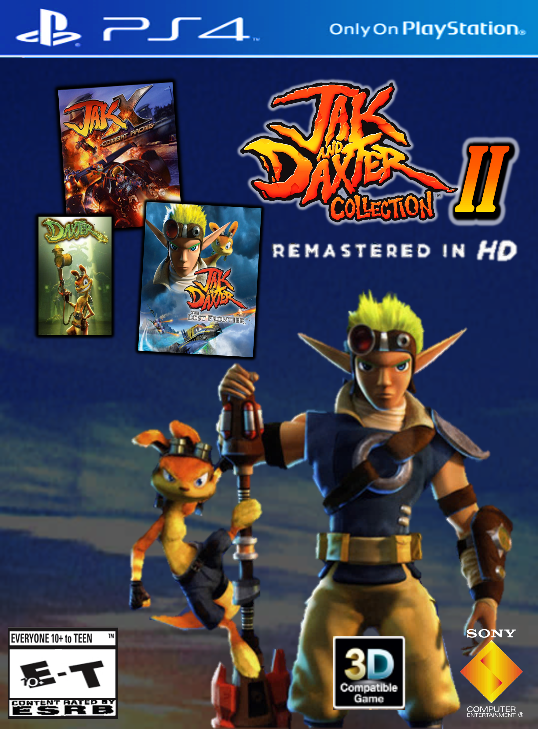 Jak and Daxter PS2 Classics Cover