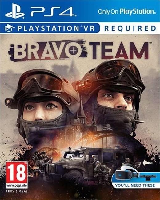 Bravo Team Cover