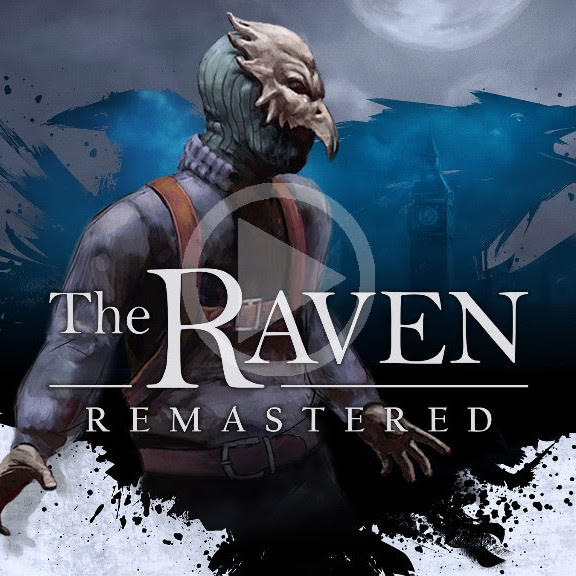 The Raven Remastered Cover