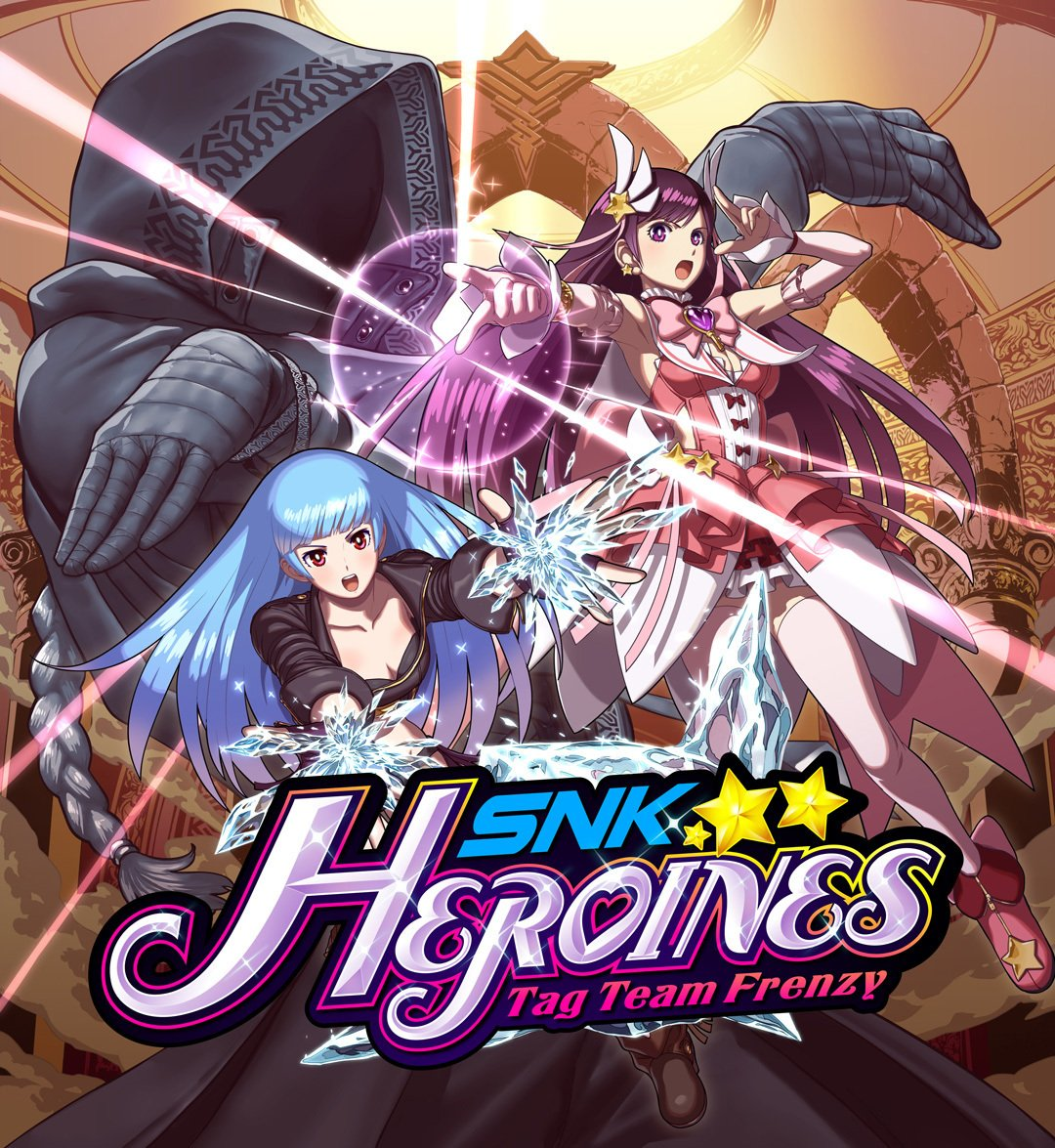 SNK HEROINES Tag Team Frenzy Cover