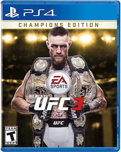UFC 3 Cover