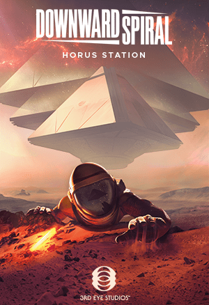 Downward Spiral: Horus Station Cover