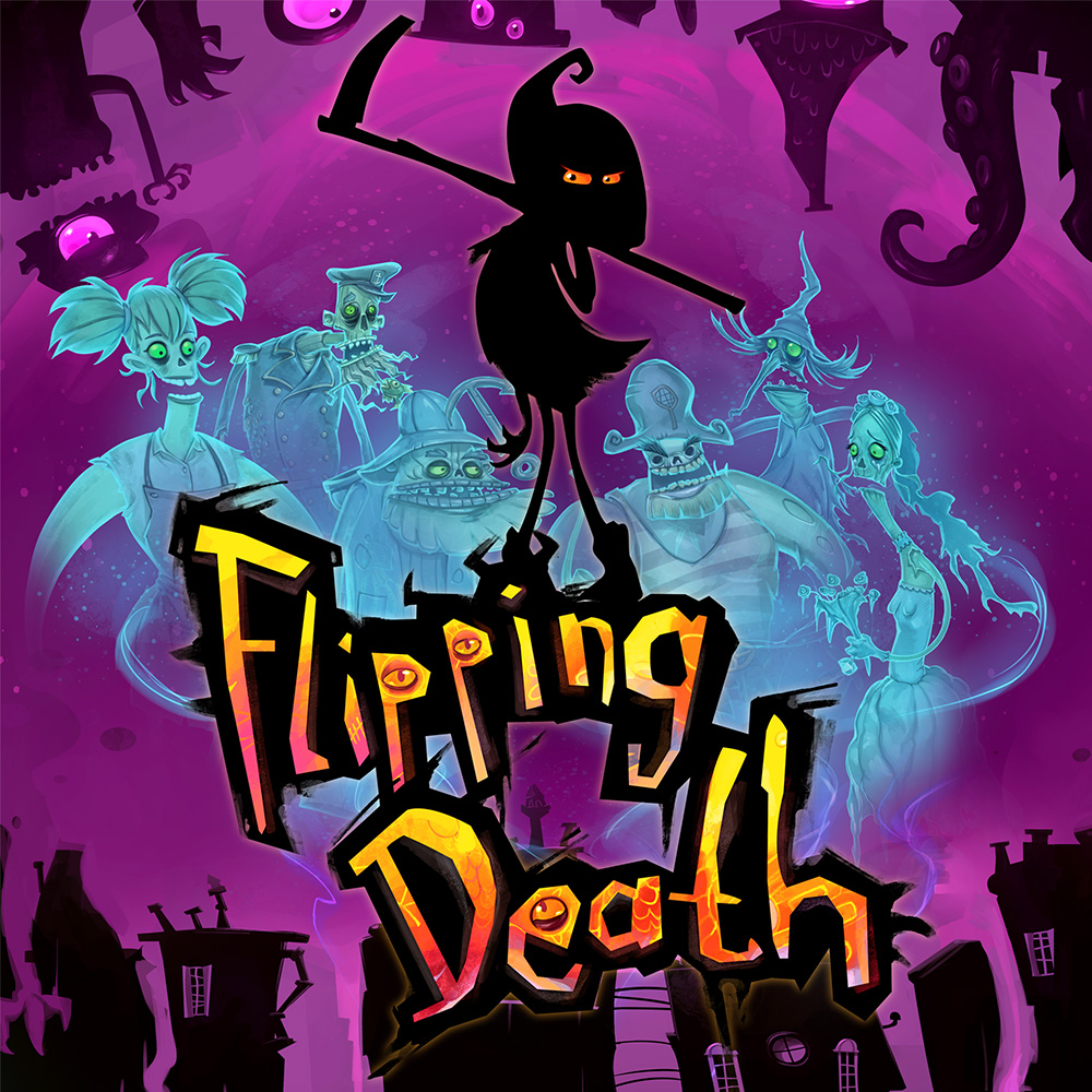 Flipping Death Cover