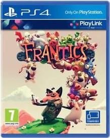 Frantics Cover