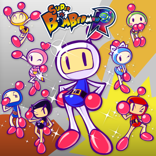 Super Bomberman R Cover