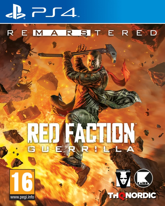 Red Faction Guerrilla Re-Mars-tered edition Cover