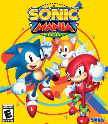 Sonic Mania Plus Cover