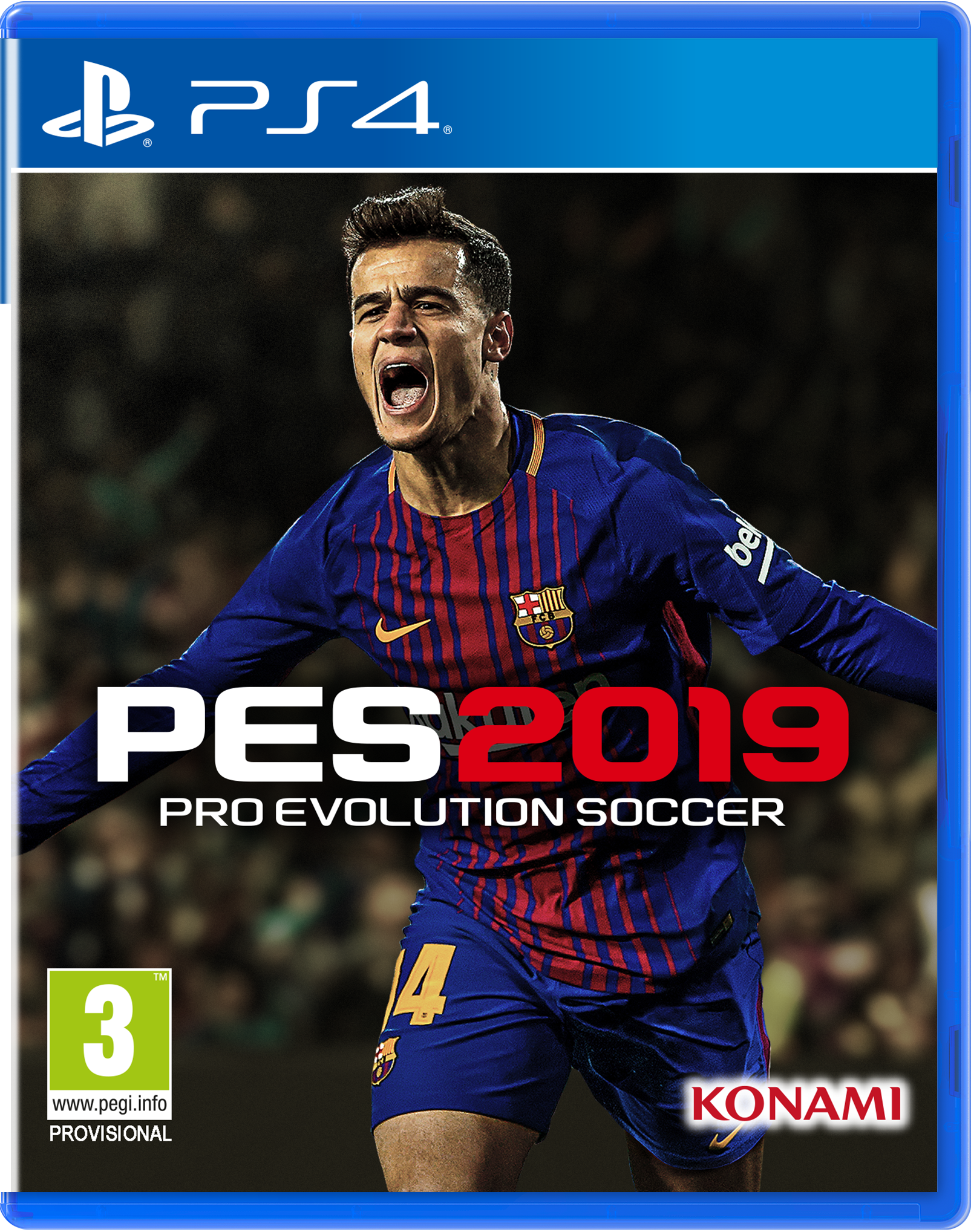 Pro Evolution Soccer 2019 Cover