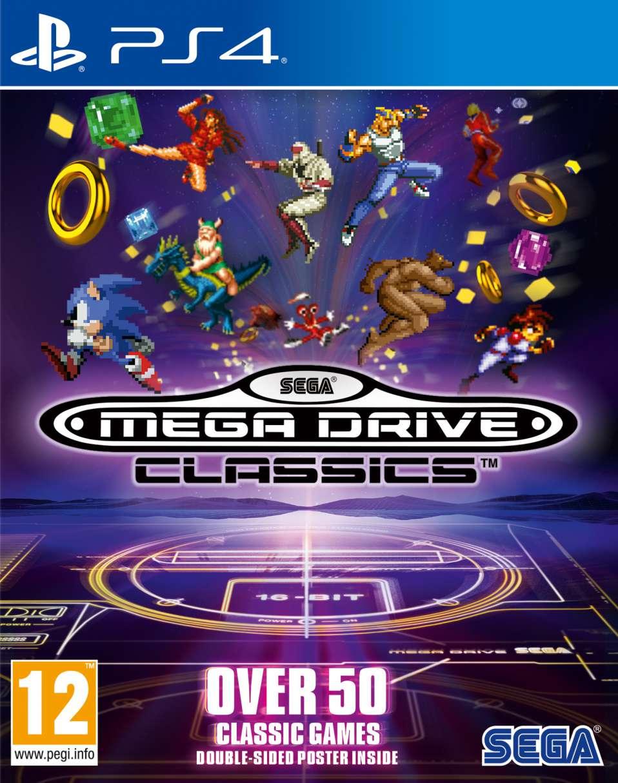 Sega Mega Drive Classics Cover