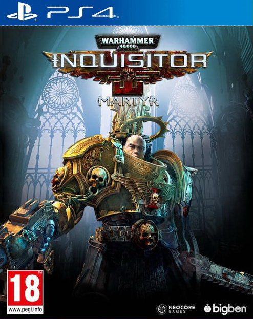 Warhammer 40K: Inquisitor – Martyr Cover