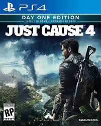 Just Cause 4 Cover