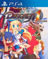 Disgaea 1 Complete Cover