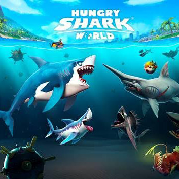Hungry Shark World Cover