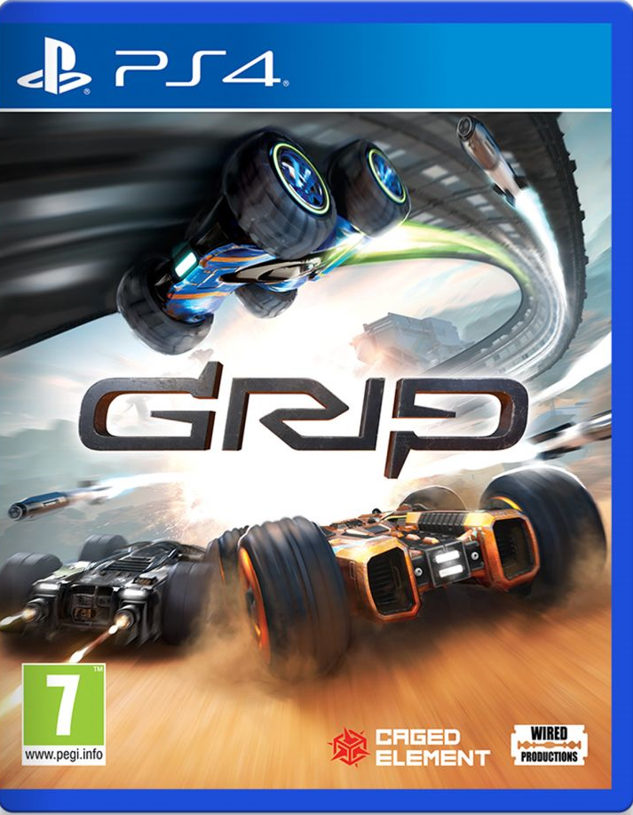 Grip: Comat Racing Cover