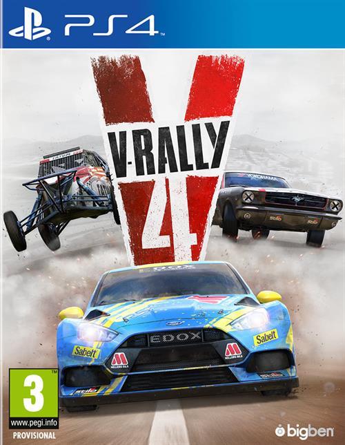 V-Rally 4 Cover