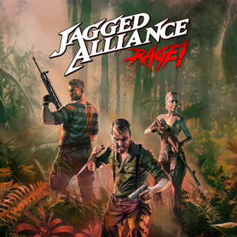 Jagged Alliance: Rage! Cover