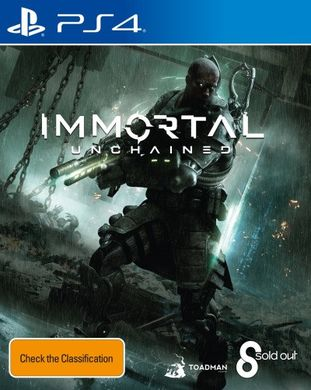 Immortal Unchained Cover