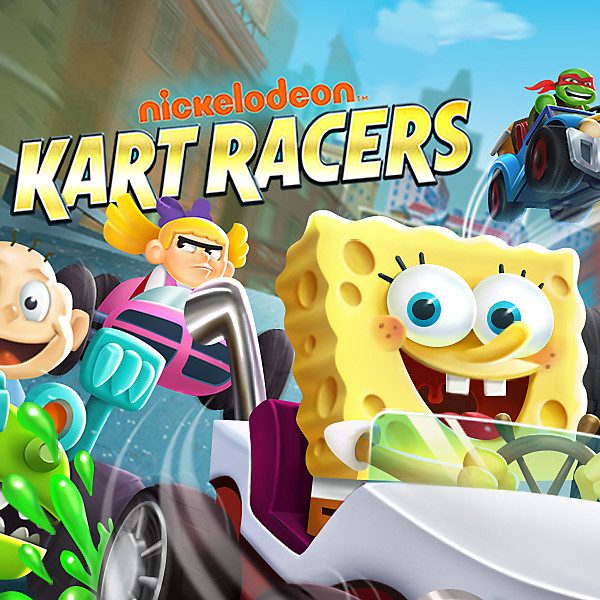 Nickelodeon Kart Racers Cover