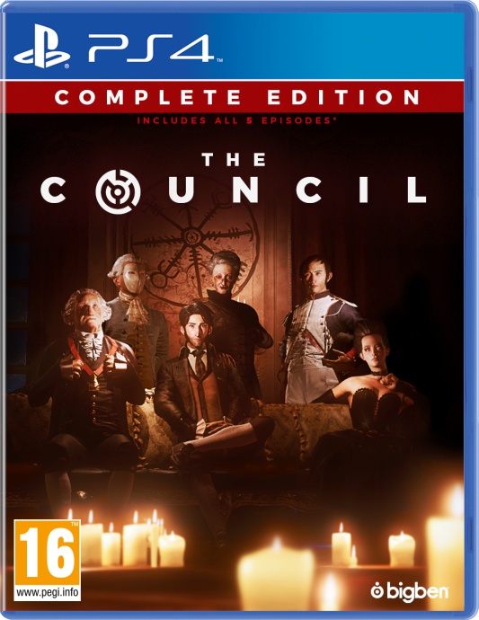 The Council - Complete Edition Cover