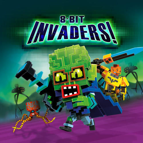 8-Bit Invaders Cover